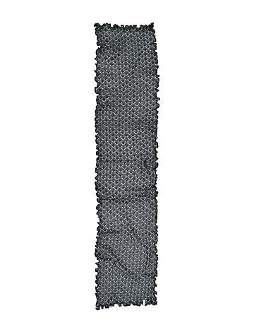 Deerberg Ajourstrick-Schal Senta anthrazit