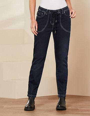 Deerberg Jeans Ellen black-blue-denim