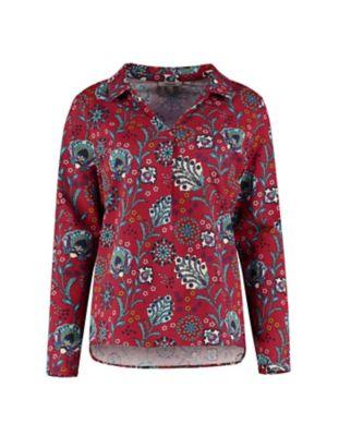 Deerberg Jersey-Shirt Noema rot-bunt