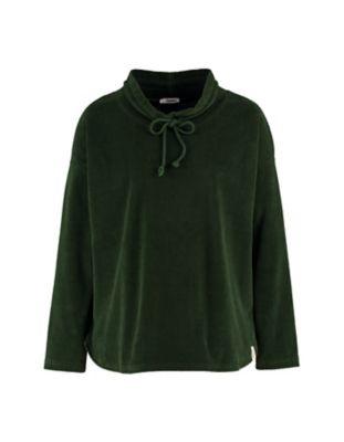 Deerberg Nicki-Cord-Shirt Aljonna tannengrün