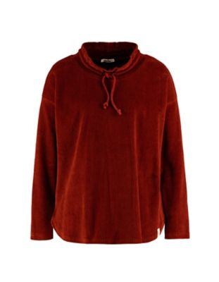 Deerberg Nicki-Cord-Shirt Aljonna ziegelrot