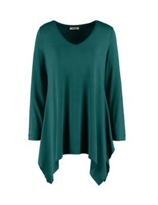 Deerberg Jersey-Tunika Iwana wacholdergrün