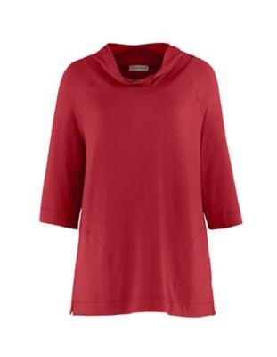 Deerberg Jersey-Shirt Ermintrud bengalrot