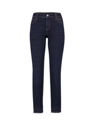 Deerberg Slim-Fit-Jeans Melonie dark-denim