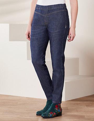 Deerberg Slim-Fit-Jeans Midori dark-denim