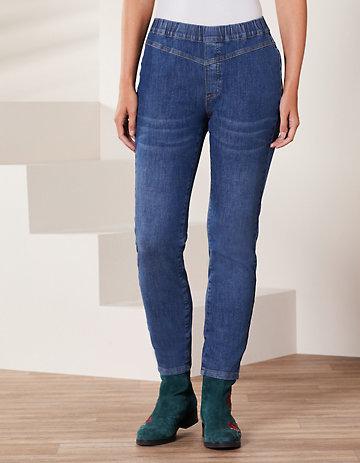 Deerberg Slim-Fit-Jeans Midori medium-denim