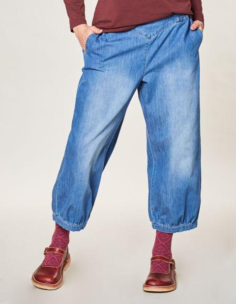 Image of Deerberg 7/8-Jeans Romy, Blau