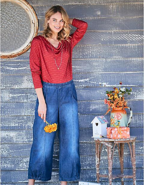 7/8-Jeans Franny | Bekleidung > Jeans > 7/8-Jeans | Deerberg