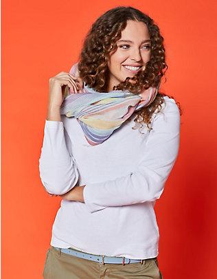 Deerberg Jersey-Shirt, langarm Cora weiß