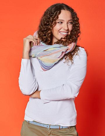 Deerberg Jersey-Shirt Cora weiß