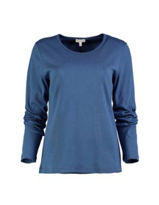 Deerberg Jersey-Shirt Cora dunkelpetrol