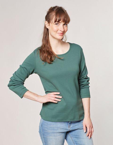 Jersey-Shirt, Grün
