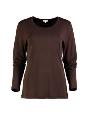 Deerberg Jersey-Shirt Cora zartbitter