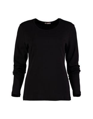 Deerberg Jersey-Shirt Cora schwarz