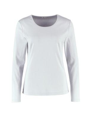 Deerberg Jersey-Shirt Cora perlgrau