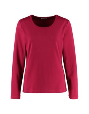 Deerberg Jersey-Shirt Cora schwertlilie