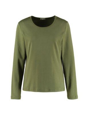 Deerberg Jersey-Shirt Cora quarzgrün