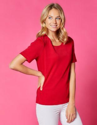 Deerberg Jersey-T-Shirt Feli rot