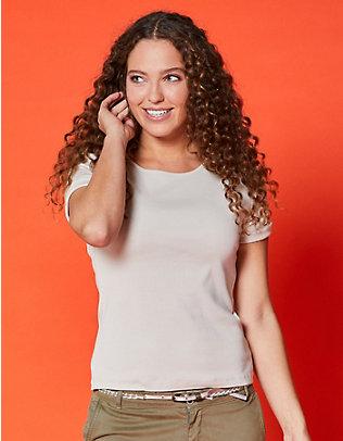Deerberg Jersey-T-Shirt Feli stein