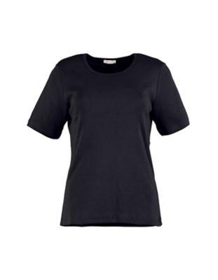 Deerberg Jersey-T-Shirt Feli schwarz