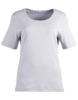 Deerberg Jersey-T-Shirt Feli silbergrau