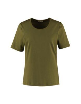 Deerberg Jersey-T-Shirt Feli quarzgrün
