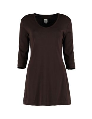 Deerberg Jersey-Shirt Josi zartbitter