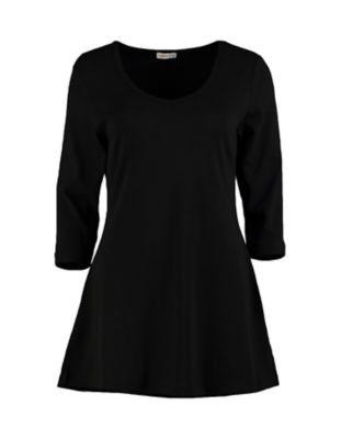 Deerberg Jersey-Shirt Josi schwarz
