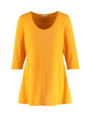 Deerberg Jersey-Shirt Josi sonnenblume