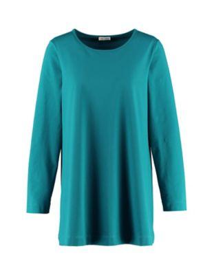 Deerberg Jersey-Shirt Pelin mittelpetrol