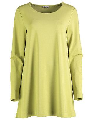 Deerberg Jersey-Longshirt Pelin gelbgrün