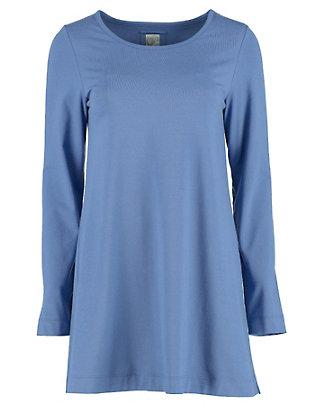 Deerberg Jersey-Longshirt Pelin nachtblau