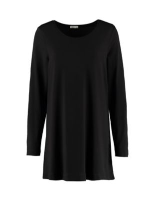 Deerberg Jersey-Shirt Pelin schwarz