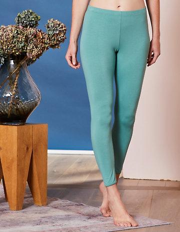 Deerberg Jersey-Leggings Maja kupfergrün