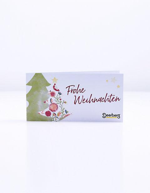 Geschenkgutschein 75 € - Weihnachten Tanne