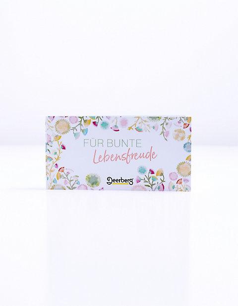 Geschenkgutschein 25 € - Lebensfreude