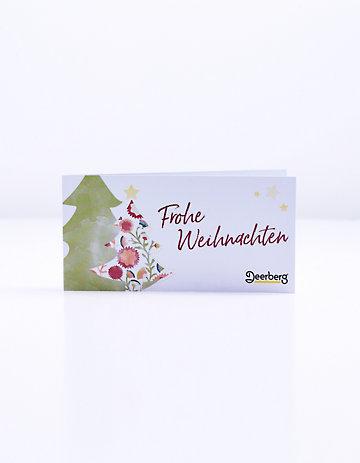 Geschenkgutschein 30 € - Weihnachten Tanne Weihnachten Tanne