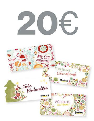 Geschenkgutschein 20 € - Lebensfreude Lebensfreude