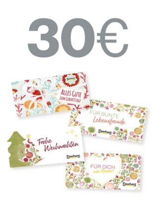 Geschenkgutschein 30 € - Lebensfreude Lebensfreude