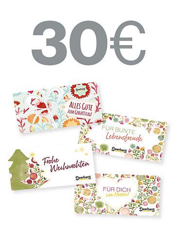 Geschenkgutschein 30 € - Von Herzen Von Herzen