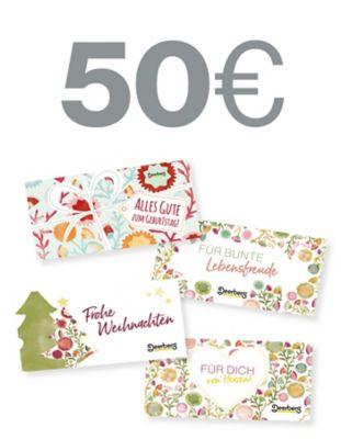 Geschenkgutschein 50 € - Lebensfreude Lebensfreude