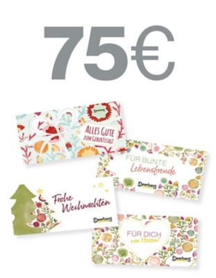 Geschenkgutschein 75 € - Lebensfreude Lebensfreude