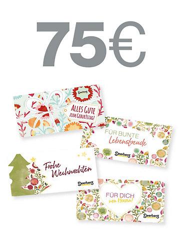 Geschenkgutschein 75 € -  Von Herzen Von Herzen