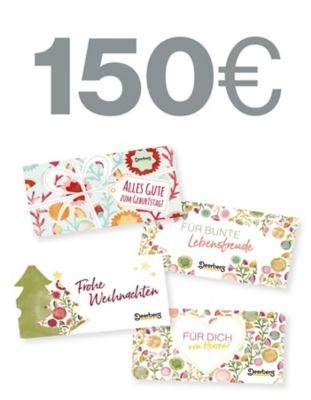 Geschenkgutschein 150 € - Lebensfreude Lebensfreude