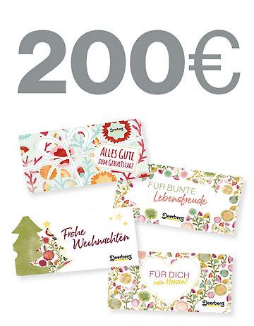 Geschenkgutschein 200 € - Alles Gute Alles Gute