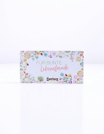 Geschenkgutschein 20 € €- Lebensfreude Lebensfreude
