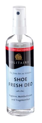 Solitaire Pflegemittel Shoe Fresh Deo, farblos