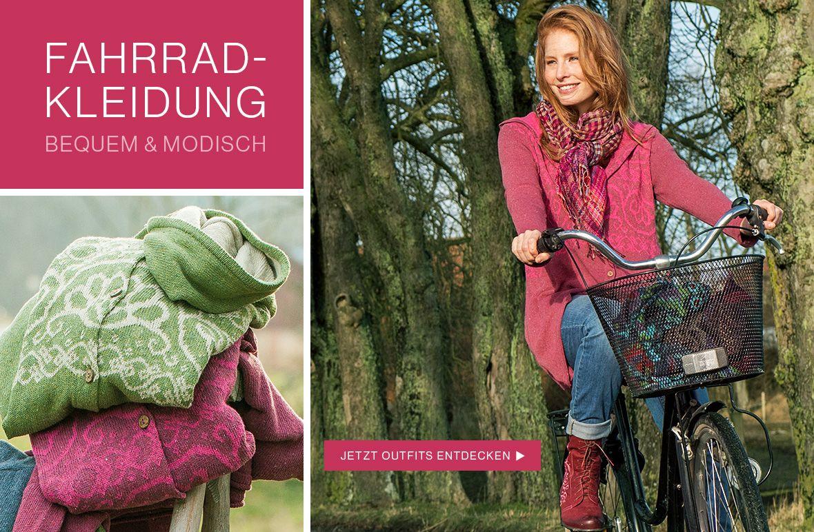 Fahrradkleidung bequem & modisch von Deerberg