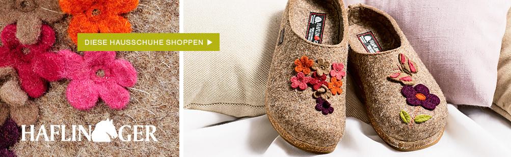 Kaufen Sie Haflinger Hausschuhe für Damen und Kinder bei Deerberg