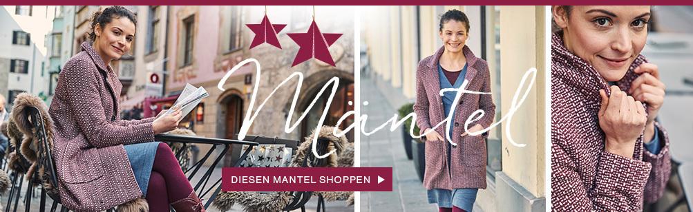 Kaufen Sie Mäntel für Damen bei Deerberg